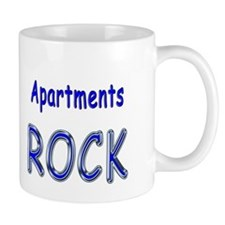 Apartments Rock Mug