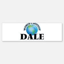 World's Hottest Dale Bumper Car Car Sticker