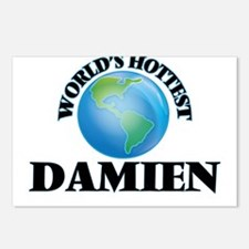 World's Hottest Damien Postcards (Package of 8)