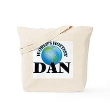 World's Hottest Dan Tote Bag