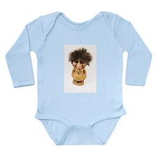 Cute Troll Long Sleeve Infant Bodysuit