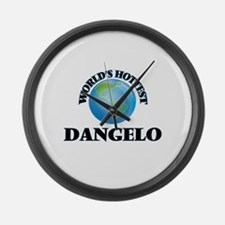 World's Hottest Dangelo Large Wall Clock