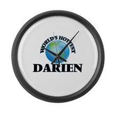 World's Hottest Darien Large Wall Clock