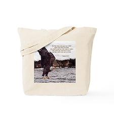 ISAIAH 40:31 WINGED EAGLES Tote Bag