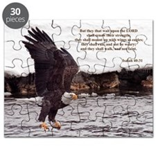 ISAIAH 40:31 WINGED EAGLES Puzzle