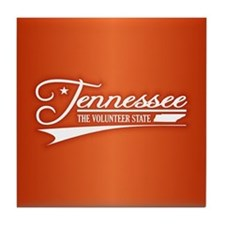 Tennessee State of Mine Tile Coaster