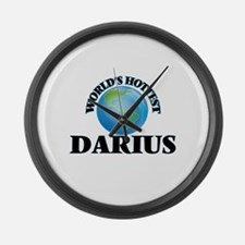 World's Hottest Darius Large Wall Clock