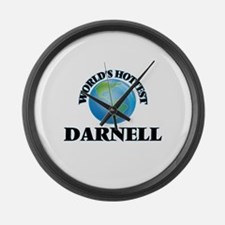 World's Hottest Darnell Large Wall Clock