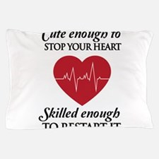 cute enough skilled enough Pillow Case