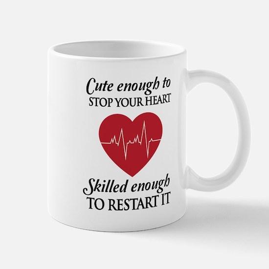 cute enough skilled enough Mugs