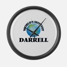 World's Hottest Darrell Large Wall Clock