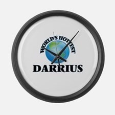 World's Hottest Darrius Large Wall Clock
