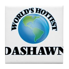 World's Hottest Dashawn Tile Coaster