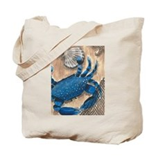 Crab and Scallop Tote Bag