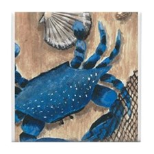 Crab and Scallop Tile Coaster