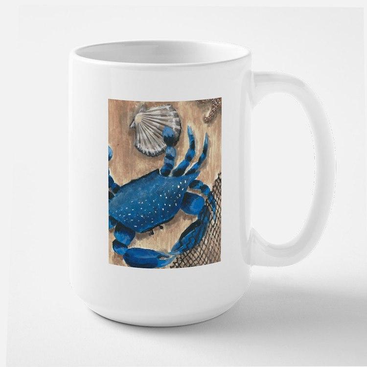 Crab and Scallop Mugs