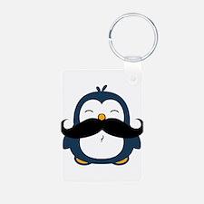 Mustache Penguin Trend Keychains