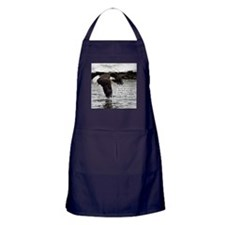 Wings of Eagles with Isaiah 40:31 Apron (dark)