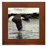 Isaiah 40 31 Framed Tiles