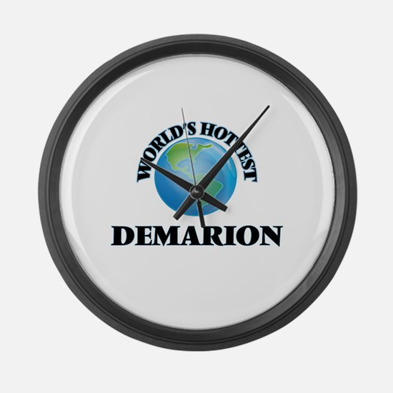 World's Hottest Demarion Large Wall Clock