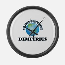 World's Hottest Demetrius Large Wall Clock