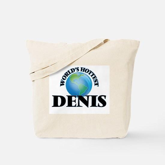 World's Hottest Denis Tote Bag
