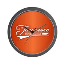 Tennessee State of Mine Wall Clock