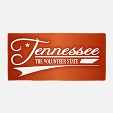 Tennessee State of Mine Beach Towel