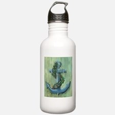 Anchor and Garland Water Bottle