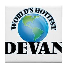 World's Hottest Devan Tile Coaster