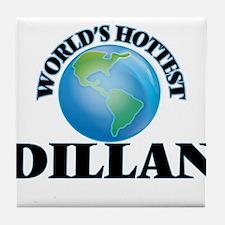 World's Hottest Dillan Tile Coaster