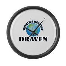 World's Hottest Draven Large Wall Clock