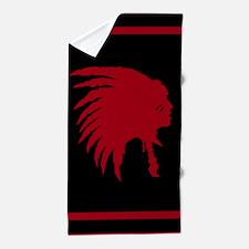 Native American Beach Towel