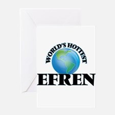 World's Hottest Efren Greeting Cards