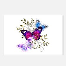 Papillons Postcards (Package of 8)