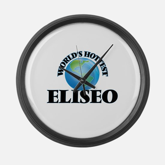World's Hottest Eliseo Large Wall Clock