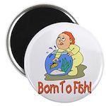 Born To Fish Magnet