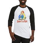 Born To Fish Baseball Jersey