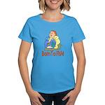 Born To Fish Women's Dark T-Shirt