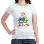 Born To Fish Jr. Ringer T-Shirt