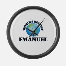 World's Hottest Emanuel Large Wall Clock