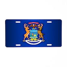 Michigan (v15b) Aluminum License Plate