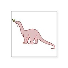 Pink Dinosaur Sticker