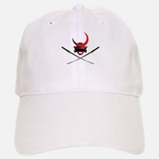 Samurai Helmet and Swords Baseball Baseball Cap