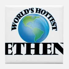 World's Hottest Ethen Tile Coaster