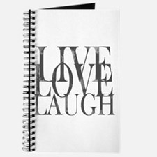 Live Love Laugh Inspirational Quote Journal