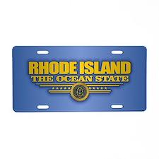 Rhode Island (v15) Aluminum License Plate