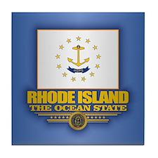 Rhode Island (v15) Tile Coaster