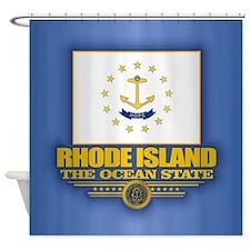Rhode Island (v15) Shower Curtain