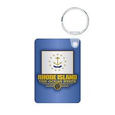 Rhode Island (v15) Keychains